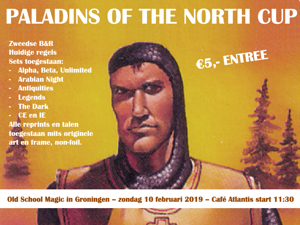 Paladins of the North Cup – Tournament Report
