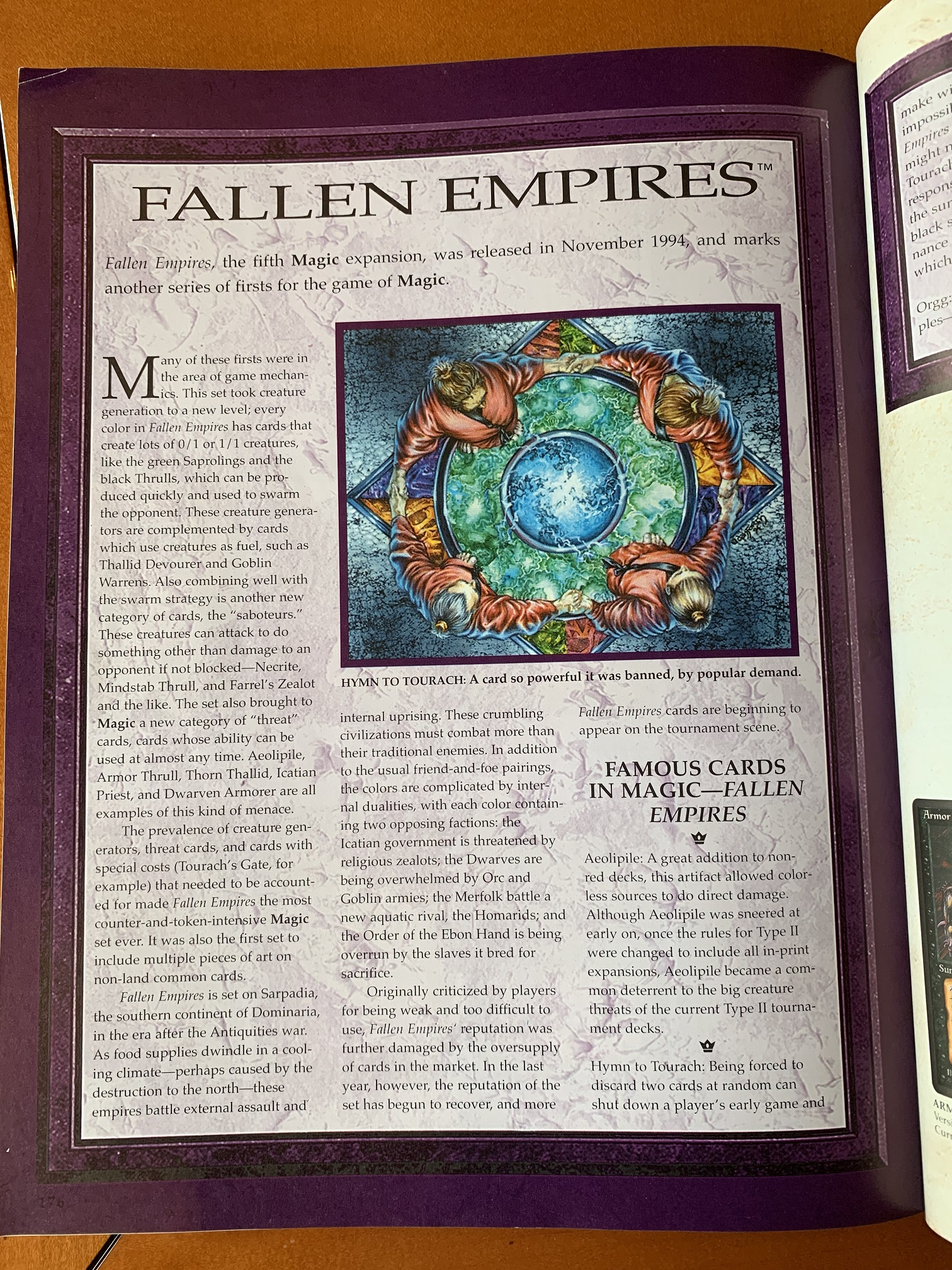 My second first glance at Fallen Empires