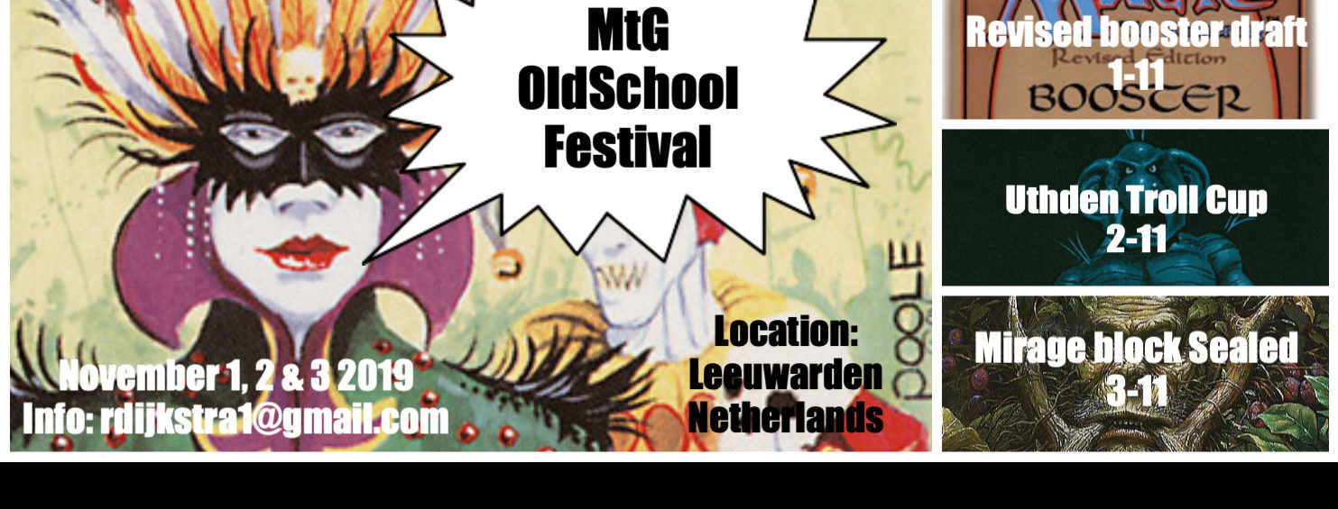 Introduction to the Uthden Troll Cup: a MtG Old School Festival