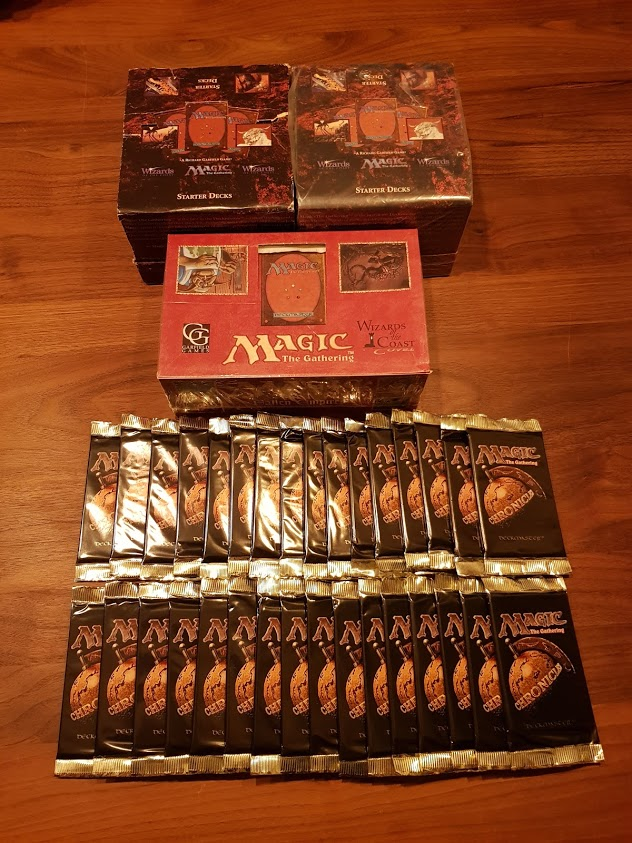 Magic Reborn: 4th Edition Sealed – Tournament Report
