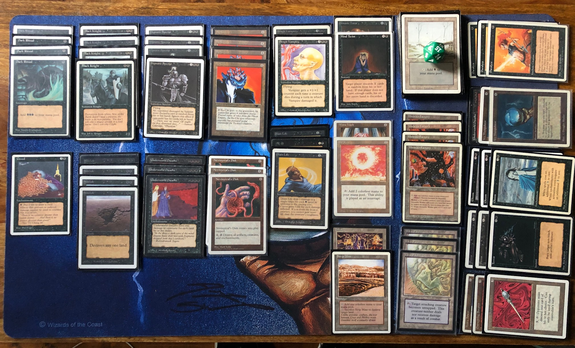 The Art of Building Budget Decks, part 3: 5 mono coloured decks