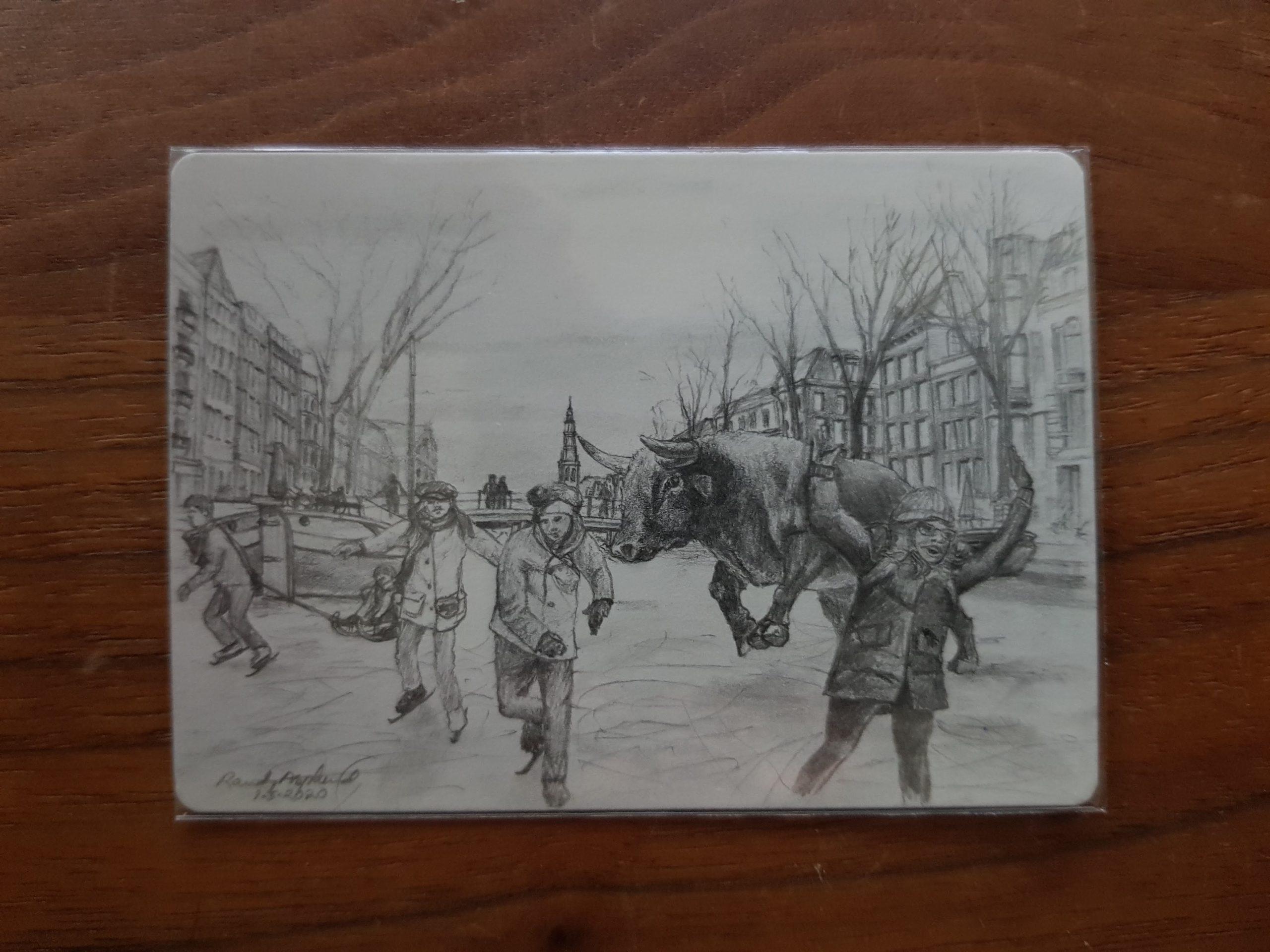Raging Bull Series: 2020 – Artist sketch reveal